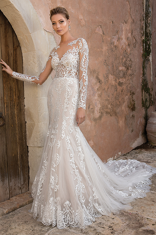 88049 Wedding Dress Justin Alexander