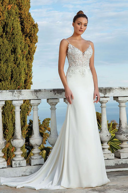 88119 Wedding Dress by Justin Alexander
