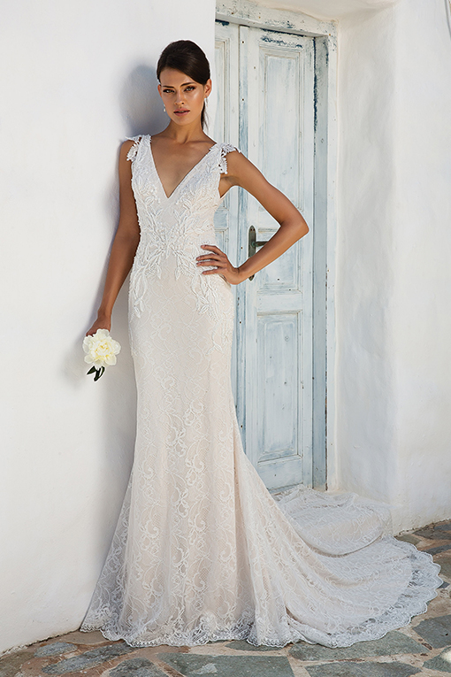 8966 Wedding Dress by Justin Alexander