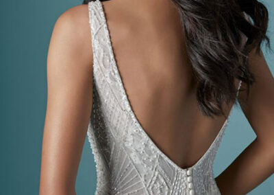 Back of Elaine by Maggie Sottero