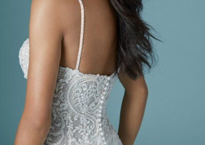 Back of Juanita Louise by Maggie Sottero