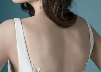 Back of Ladelle by Maggie Sottero