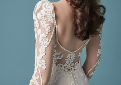 Back of Nikki by Maggie Sottero