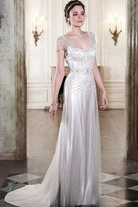 Ettia Wedding Dress by Maggie Sottero