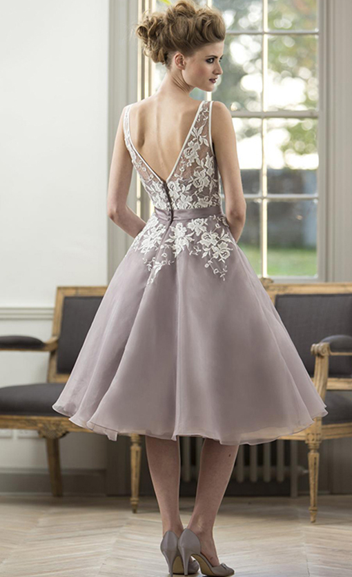 M570 Bridesmaid Dress by True Bride