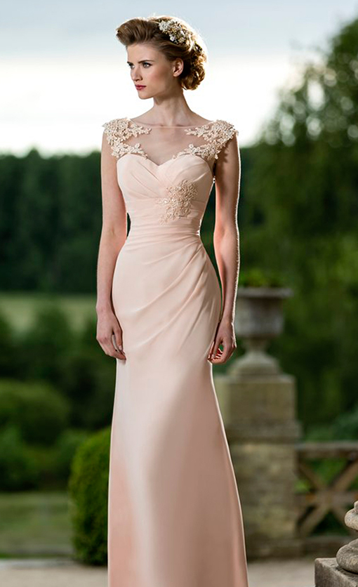 M587 Bridesmaid Dress by True Bride