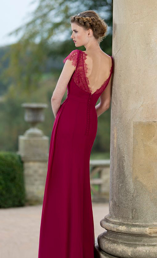 M635 Bridesmaid Dress by True Bride