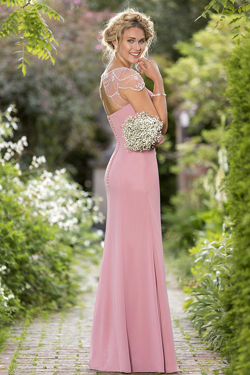 M656 Bridesmaid Dress by True Bride