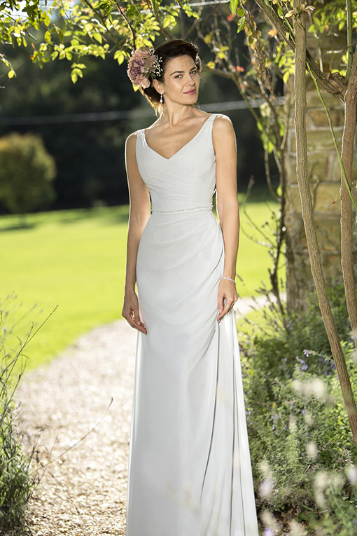 M674 Bridesmaid Dress by True Bride