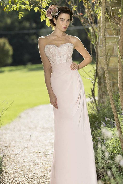 M677 Bridesmaid Dress by True Bride