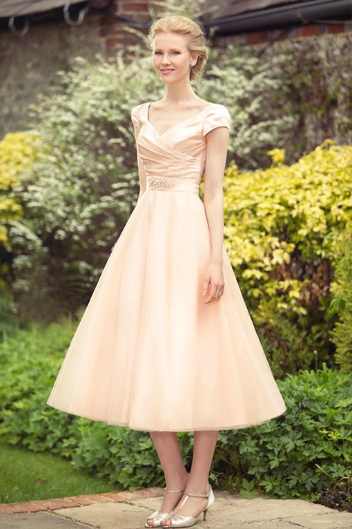 M689 Bridesmaid Dress by True Bride