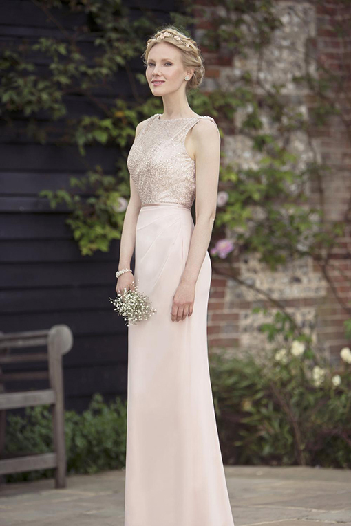 M694 Bridesmaid Dress by True Bride