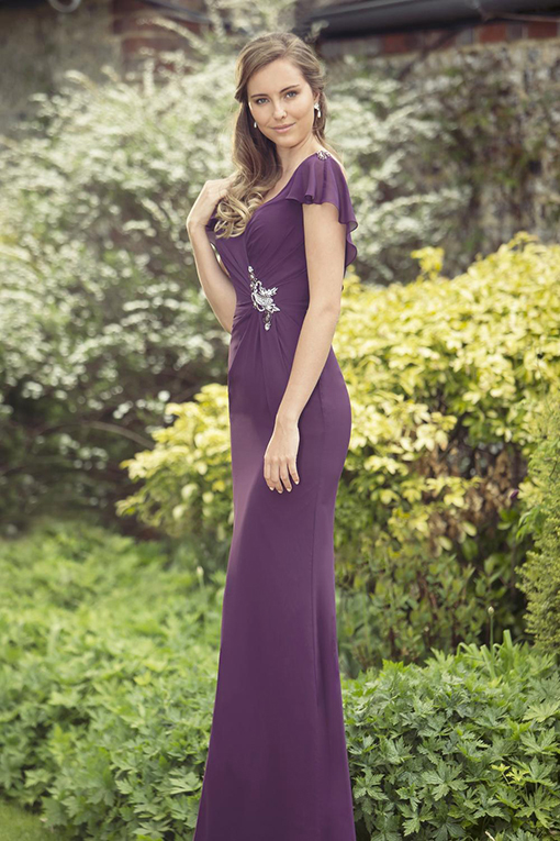 M696 Bridesmaid Dress by True Bride