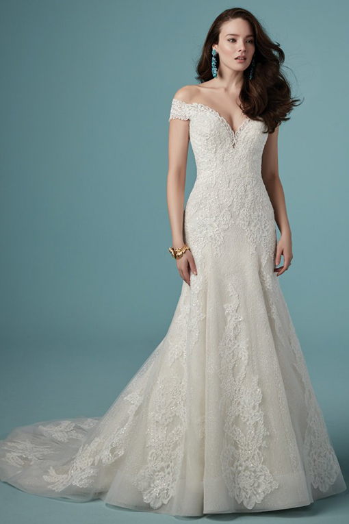 Maeleigh Wedding Dress by Maggie Sottero