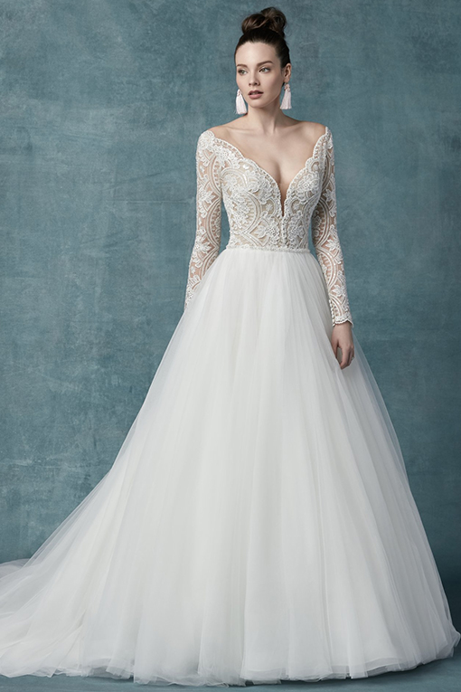 Mallory Dawn Wedding Dress by Maggie Sottero