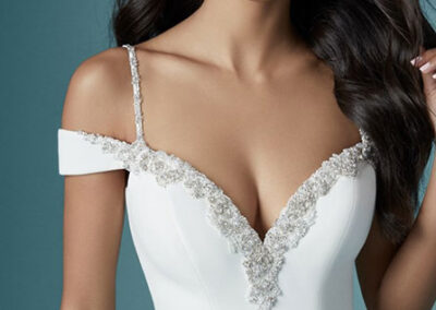 Neckline of Eve by Maggie Sottero