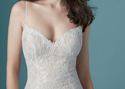 Neckline of Janice by Maggie Sottero
