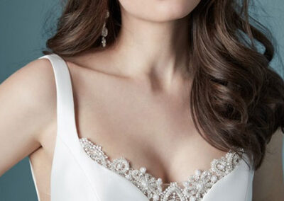Neckline of Ladelle by Maggie Sottero