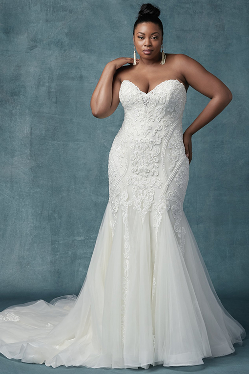 Quincy Wedding Dress by Maggie Sottero