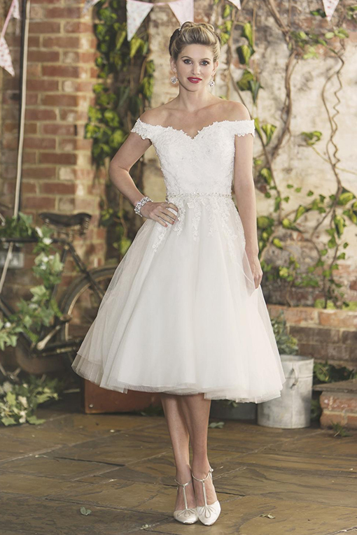 Tilly Wedding Dress by Brighton Belle