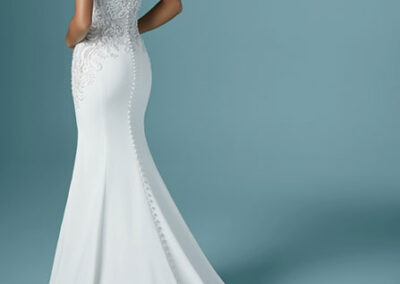 Train of Juanita Louise by Maggie Sottero